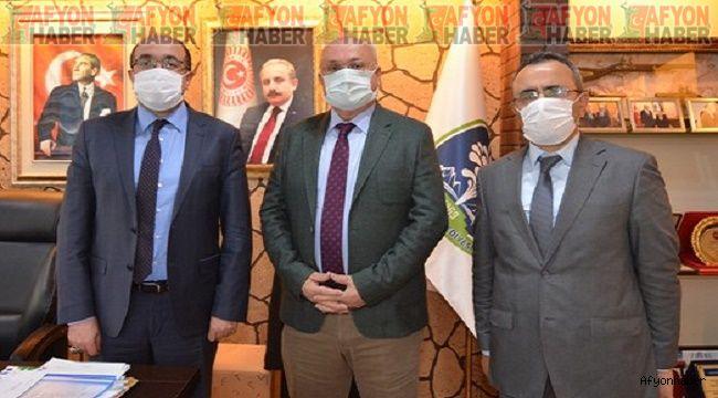 Burdur ve Düzce'den Başkan Mustafa Çöl'e Ziyaret
