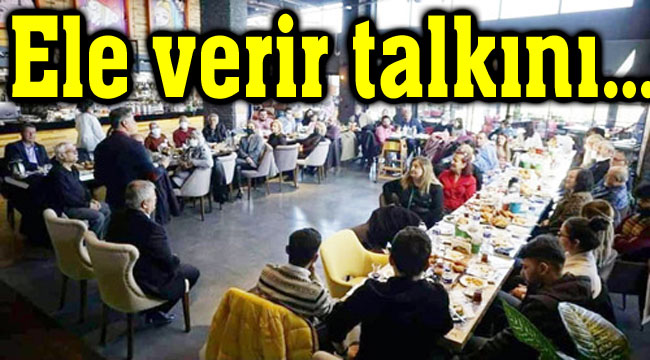 CHP'den lebalep pazar kahvaltısı!..