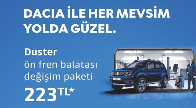 Dacia ile her mevsim yolda güzel!..