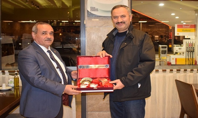 Danıştay 10. Daire Başkanı Yılmaz Akçil'den Başkan Şahin'e ziyaret
