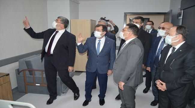 Devlet Hastanesine, ATSO'nun desteğiyle 1. Basamak Yoğun Bakım Ünitesi açıldı