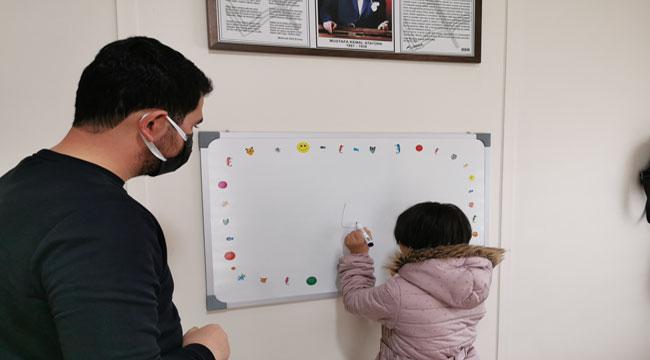Down sendromlu çocukların becerilerini ortaya çıkarıyorlar