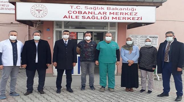 Dr. Serhat Korkmaz, saha ziyaretlerine devam ediyor