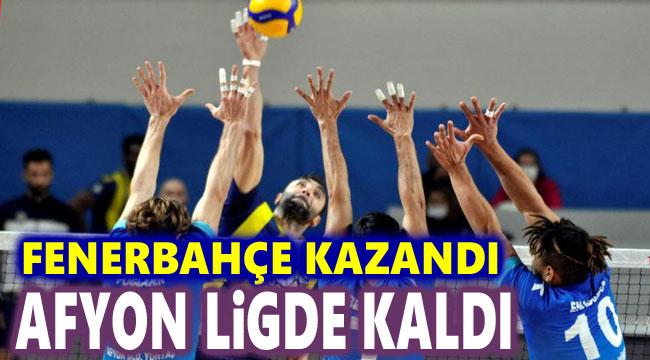 Fenerbahçe kazandı, Afyon Belediye Yüntaş ligde kaldı