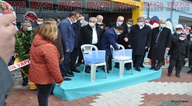 Afyon Güvenevler'de inşa edilen Demiryol-İş Kooperatifi Konutlarının kuraları çekildi