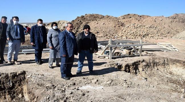 İscehisar'da Zehra Ana Camii'nin temeli atıldı