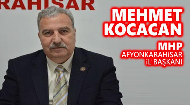Mehmet Kocacan'ın Miraç Kandili mesajı