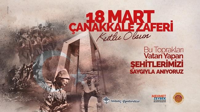 Mehmet Zeybek'in Çanakkale Zaferi mesajı