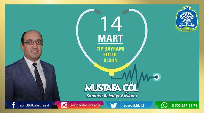Mustafa Çöl'ün Tıp Bayramı mesajı