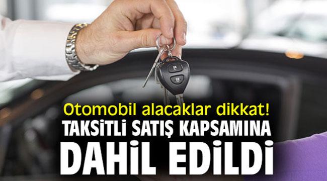 Otomobilde taksit dönemi!..