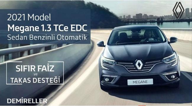 Renault Demireller'de Megane'da kampanya