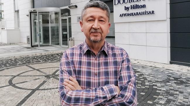 Tarihçi ve dağcı Rıdvan Şükür, Afyon'da