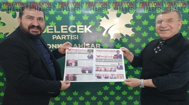 TDP'den Gelecek Partisi'ne ziyaret