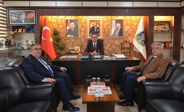 Türk Yerel Hizmet Sen'den Başkan Çöl'e ziyaret