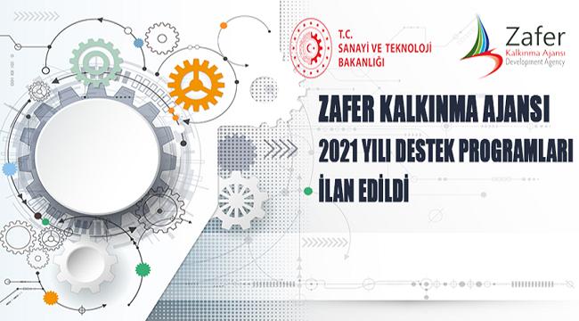 Zafer Kalkınma Ajansı 2021 Yılı Destek Programları açıklandı