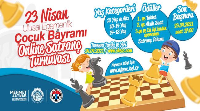 23 Nisan'a özel satranç turnuvası düzenlenecek