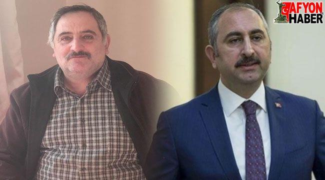 Adalet Bakanı Gül'den taziye mesajı