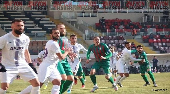 Amed Sportif - Afjet Afyonspor 1-1