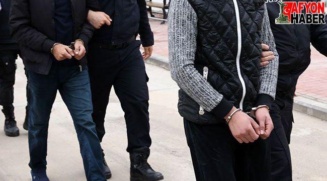 Afyon'da 107 adet uyuşturucu hapla yakalanan 2 kişi tutuklandı