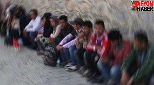 Afyon'da 31 kaçak göçmen yakalandı