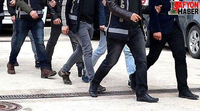 Afyon'da araması bulunan 9 hükümlü yakalandı