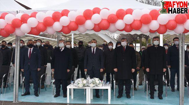 Afyon'da Bitkisel Üretimi Geliştirme Projesi kapsamında tohum dağıtım töreni yapıldı