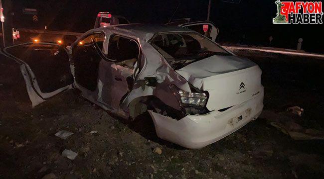 Afyon'da feci kaza, 3 kişi öldü