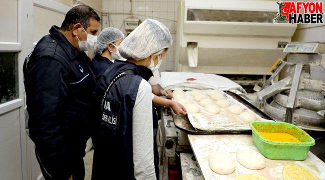 Afyon'da fırınlara Ramazan denetimi