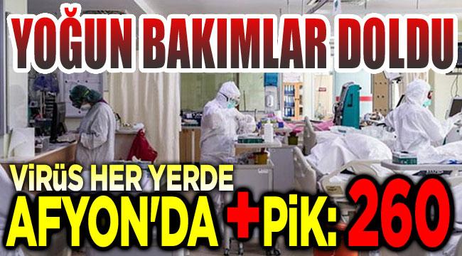 Afyon'da koronavirüste pozitif rekoru kırıldı!..
