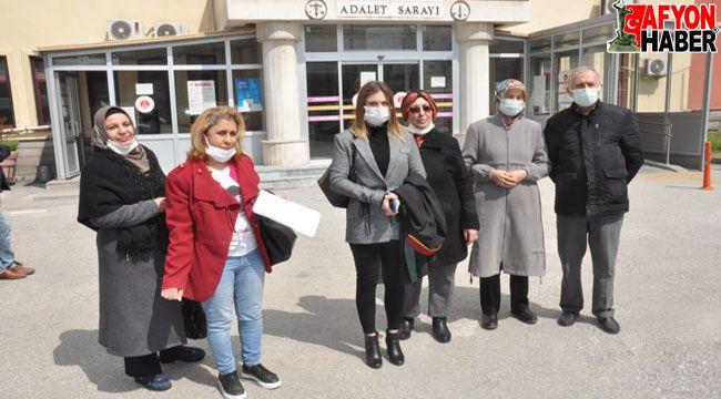 Afyon'da termal devremülk mağdurları destek istedi
