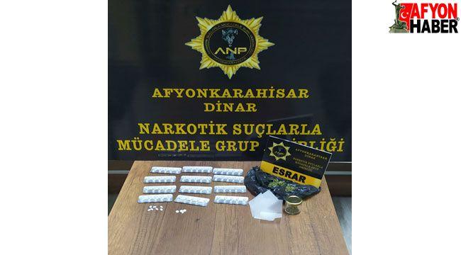 Afyon'da uyuşturucu operasyonunda 1 şüpheli yakalandı