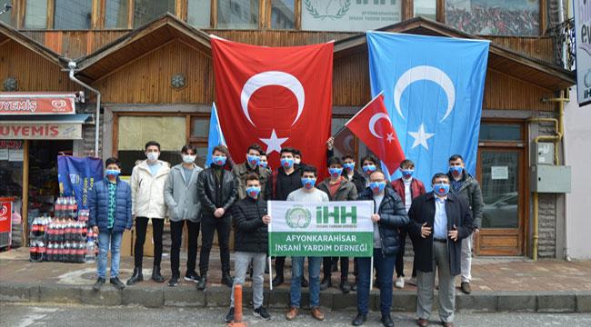 """Afyon Genç İHH'dan """"Doğu Türkistan"""" açıklaması"""