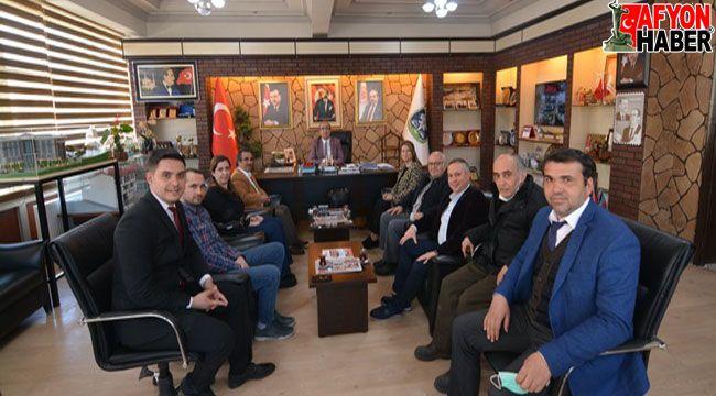 Afyon İMO'dan Başkan Çöl'e ziyaret