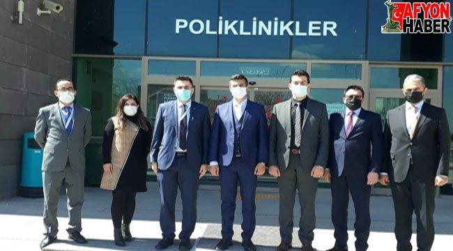 Afyon Şuhut'ta koronavirüs toplantısı