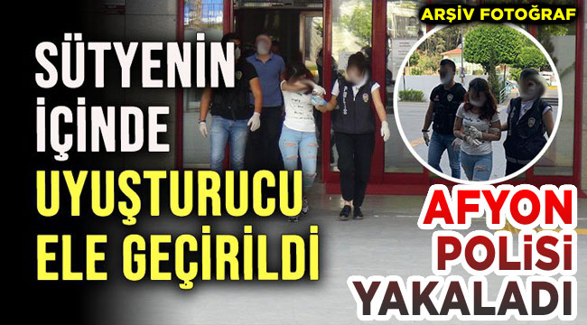 Afyonkarahisar Polisi yakaladı!..