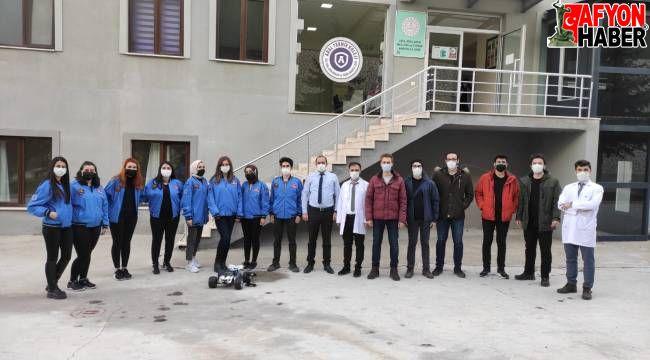 AKÜ Havacılık ve RC Araç Topluluğu ARAL Teknik Koleji Öğrencileri ile maket uçak yaptı