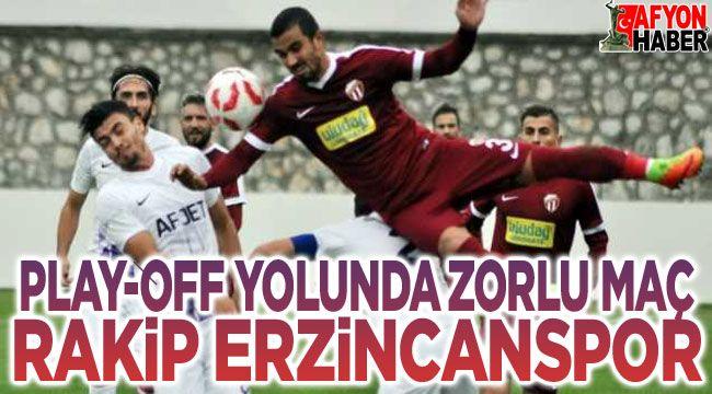 Anagold 24Erzincaspor - Afjet Afyonspor maçı Pazar günü
