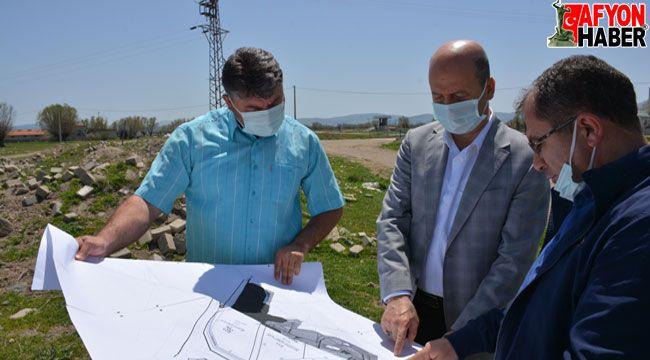 Başkan Bozkurt: Vizyon projelerle Şuhut'a hizmet ediyoruz