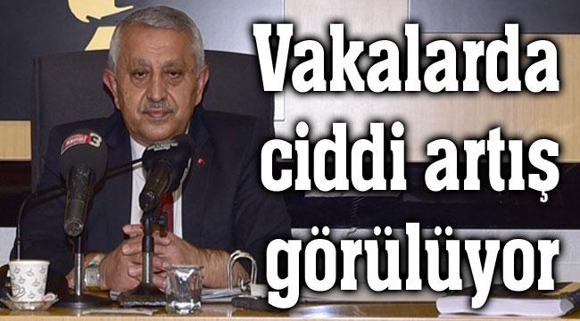 Başkan Mehmet Zeybek: Vakalarda ciddi artış var
