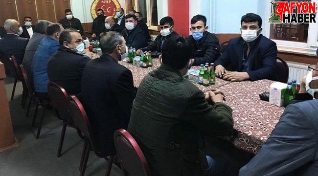 Çobanlar'da AK Parti'den MHP'ye ziyaret