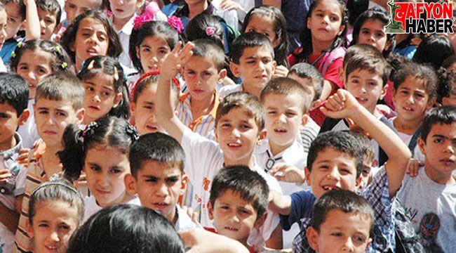 Ege Bölgesinde en fazla çocuk nüfusu Afyonkarahisar'da