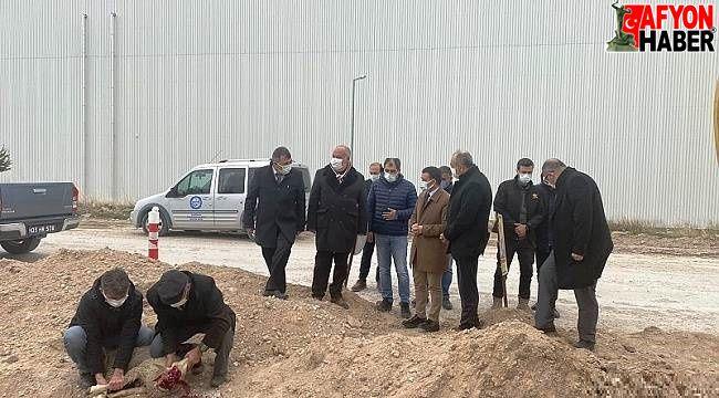 Emirdağ OSB'de doğalgaz çalışmaları başladı