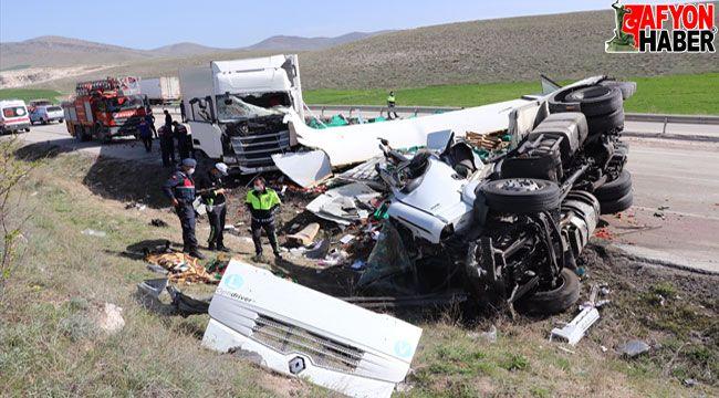 Feci kazada vefat eden sürücülerin kimlikleri belli oldu
