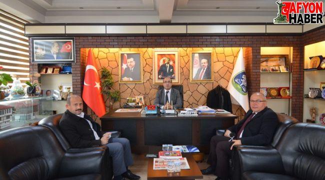 Feyzullah Dereci'den Başkan Çöl'e ziyaret