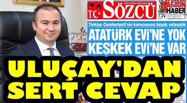 Hüseyin Ceylan Uluçay: Atatürk evini biz ihya ettik, siz ne yaptınız?