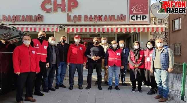 Kızılay Afyon Şubesinden CHP'ye ziyaret