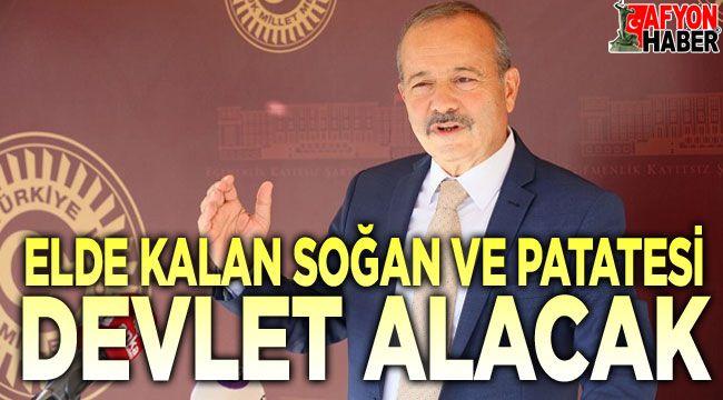 Mehmet Taytak'tan patates ve soğan üreticilerine müjde geldi