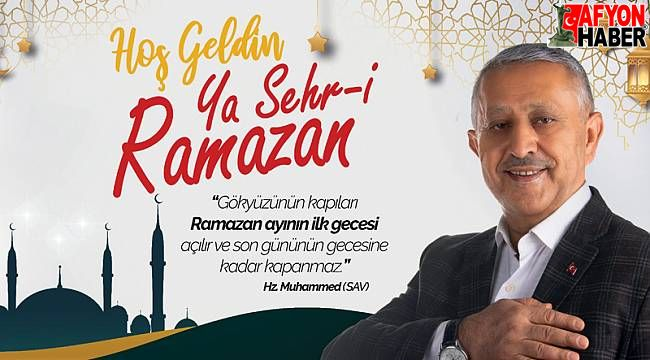 Ramazanda birlik ve beraberliğimiz daha da güçlensin