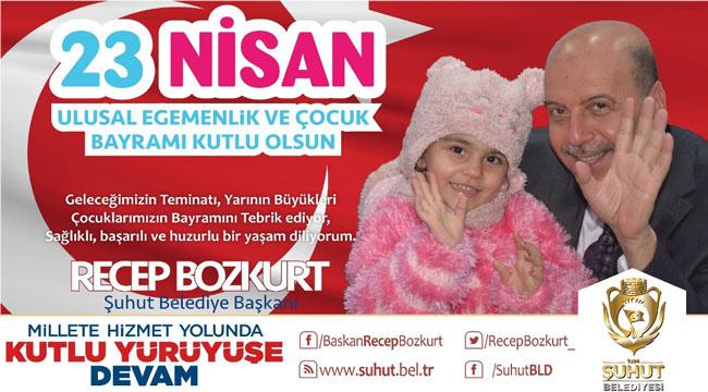 Recep Bozkurt'un 23 Nisan mesajı