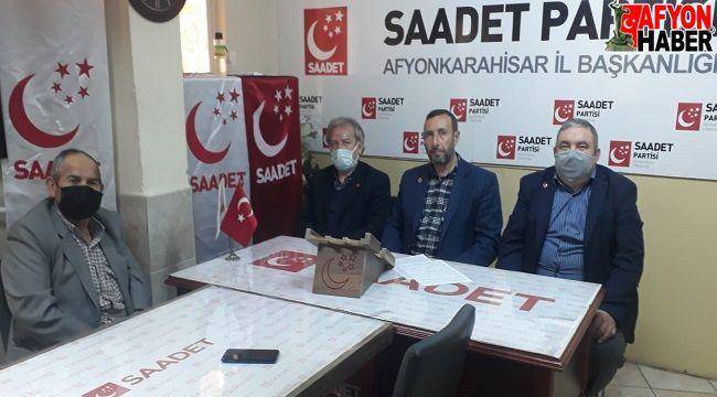 """Saadet Partisi: Gelin """"Geçim İttifakı"""" kuralım!.."""